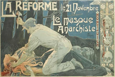 la reformele masque anarchiste by henri privat livemont
