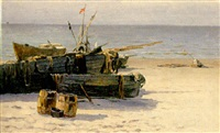 bateaux by isaac mikhailovitch leizerov