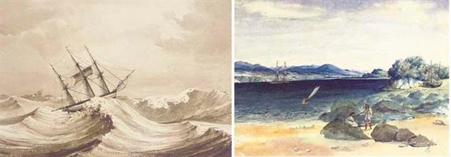 sketches taken on the voyage to america portfolio of 9 by francois mathurin adalbert