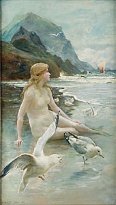 sjöjungfrun by norman prescott davies