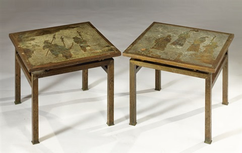 ming tables (pair) by philip and kelvin laverne