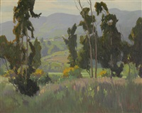 springtime in the foothills by elmer wachtel