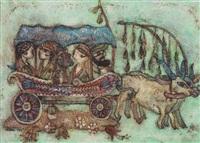 karagöz-arabacı by nuri abac