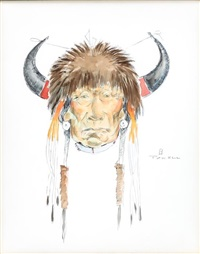 blackfoot medicine man by ace powell