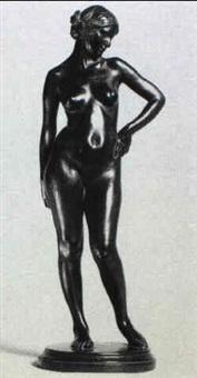 standing female nude by edmund thomas quinn
