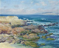 martin's point, carmel by guy rose