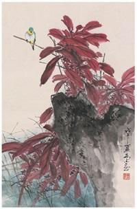 栖禽图 by qiao mu