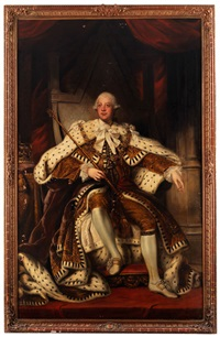 portrait von king george iii by joshua reynolds