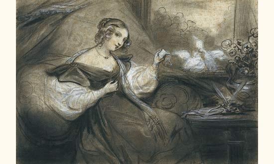 amour by nicolas françois octave tassaert