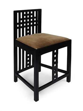 low chair by charles rennie mackintosh