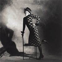 fashion for perry ellis america, new york by horst p. horst