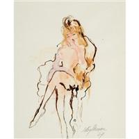 sleepy nude by leroy neiman