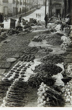 untitled vegetable market mexico by henri cartier bresson