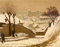 město pod sněhem by josef multrus
