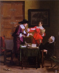 the contract by louis-charles-auguste steinheil