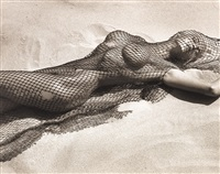 nude model (brigitte nielson, malibu) by herb ritts