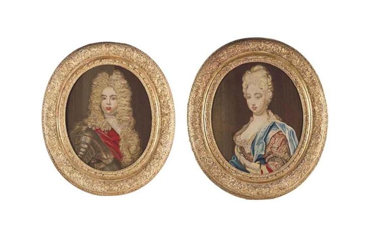 louis dit le petit dauphin marie adelaïde de savoie duchesse de bourgogne pair by anonymous 19