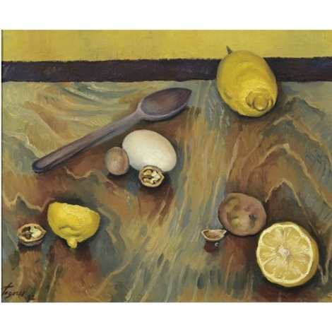 bodegón con limones still life with lemons by jose de togores