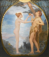 adam and eve by reginald machell