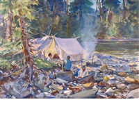 camping trip by john whorf
