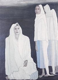 mujeres en blanco by manuel rodríguez lozano