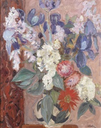 flower piece by william george gillies