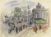 trafalgar square by bernard gussow