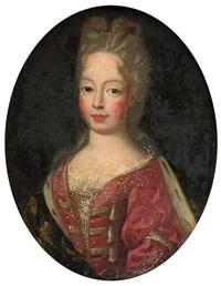 portrait de mademoiselle de blois by pierre mignard