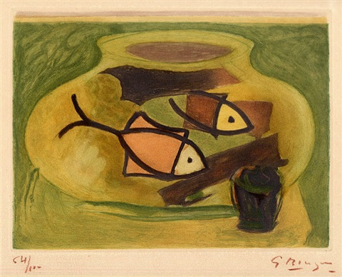 laquarium hrsg maeght oj by georges braque