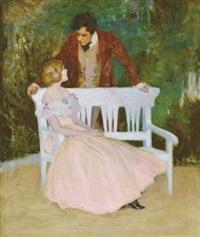 courting by sigmund vajda