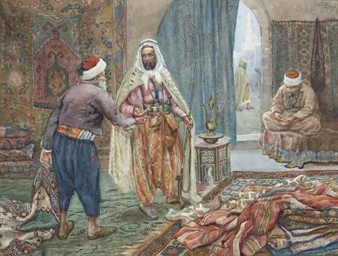 the carpet seller by albert rosati