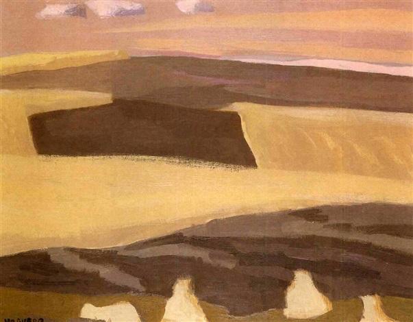 paisaje de castilla by joaquín vaquero palacios