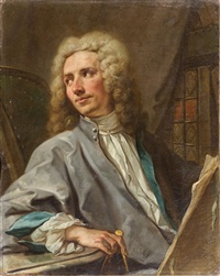 portrait de l'architecte pierre de vigny by jean restout the younger