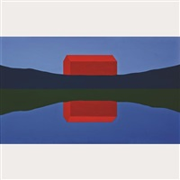 red barn by charles pachter
