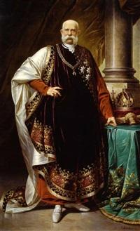 kaiser franz joseph i. von österreich by v. kretschmer