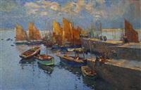 port breton by louis azema