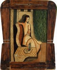 portrait cubiste by belar kadaryl