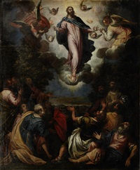 the transfiguration by antonio vassilacchi