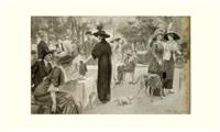la réouverture du bois : l'heure du thé by josé simont