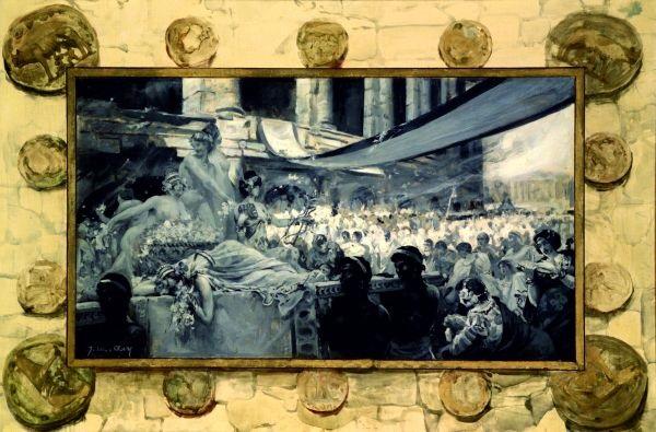 orgie romaine by joseph marius avy