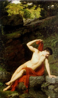narcissus by adolf joseph grass