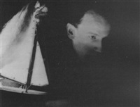 portrait de joseph cornell by lee miller