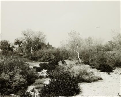 santa ana wash next to norton air force base san bernadino county california by robert adams