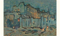 vieux quartier, paris by frederic fiebig