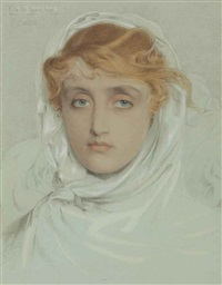 the white mayde of avenel by anthony frederick augustus sandys