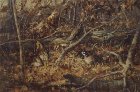 late autumn bobwhites by robert kennedy abbett