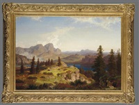 a view of the dolomites by cäsar metz