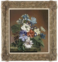 summer flowers by bennett oates