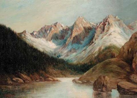 untitled rocky mountains by henry metzger