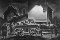 peddler wagon by philip burnham hicken